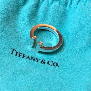 Tiffany & Co T square ring